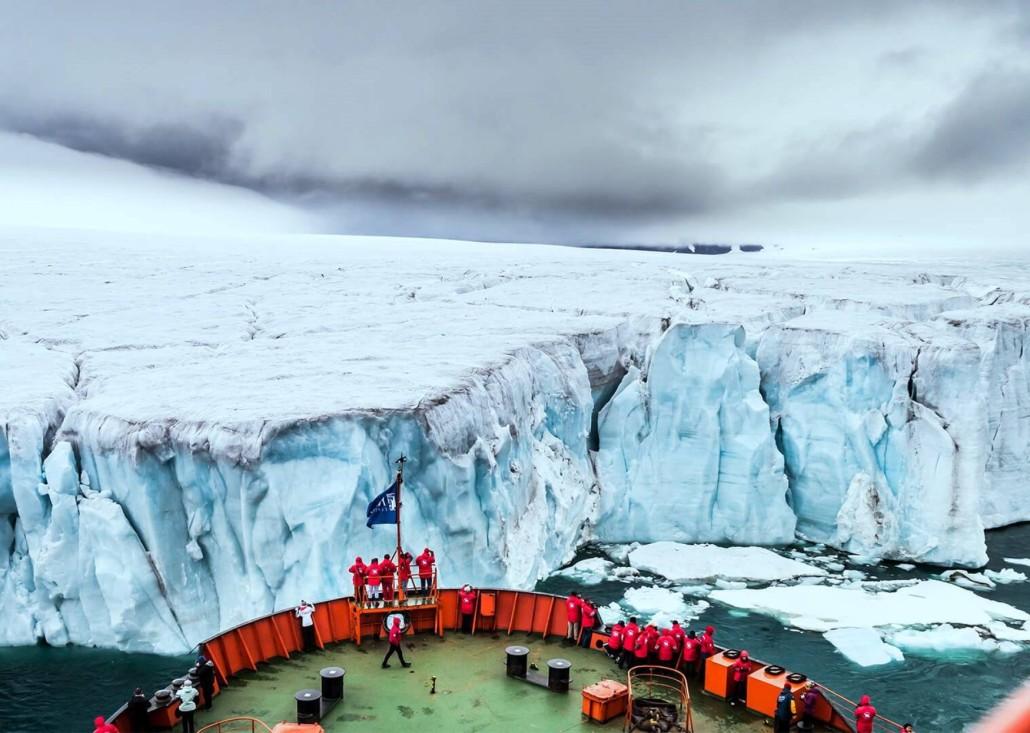 Polo Norte, a bordo de un rompehielos nuclear - Mundo